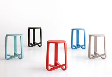 Jo stools, designed by EandJ design studio