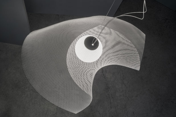 MYTILUS hanging lamp by Arturo Álvarez. Photo: Courtesy of Arturo Álvarez