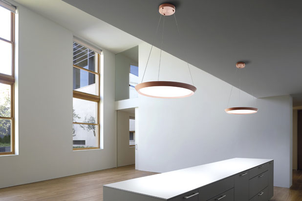 SATURN hanging lamps, designed by Benedito Design for Grok by LEDS-C4