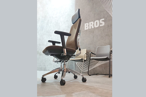 BROS office chair by Tandem for Mobel Linea. Photo: Courtesy of Mobel Línea