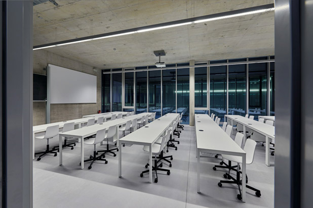 Lottus chairs at the Stuttgart's Faculty of Architecture