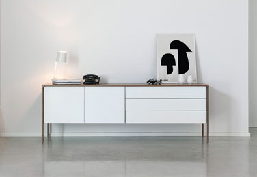 Tactile sideboard, designed by Terence Woodgate