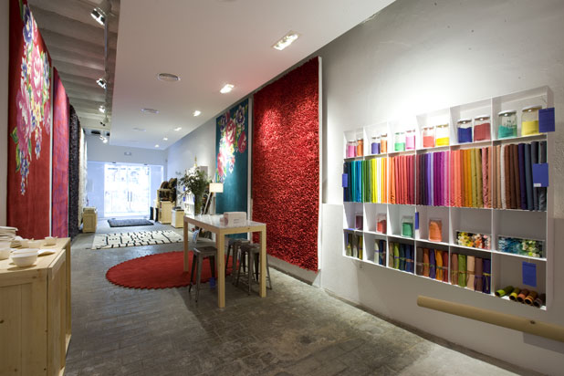 nanimarquina Flagship  Store in Barcelona
