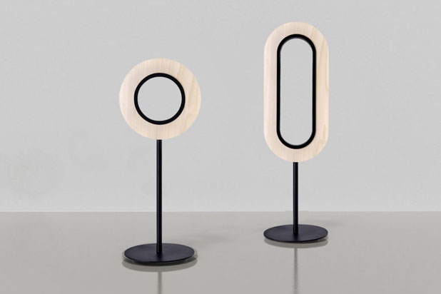 LENS lamps designed by Mut Design for LZF. Photo: Courtesy of Mut Design