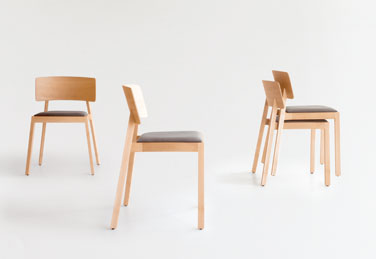Whiskey chairs, designed by Terence Woodgate