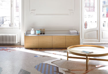 Stockholm sideboard, designed by Mario Ruiz