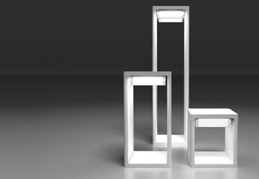 Frame outdoors beacon light for B.Lux