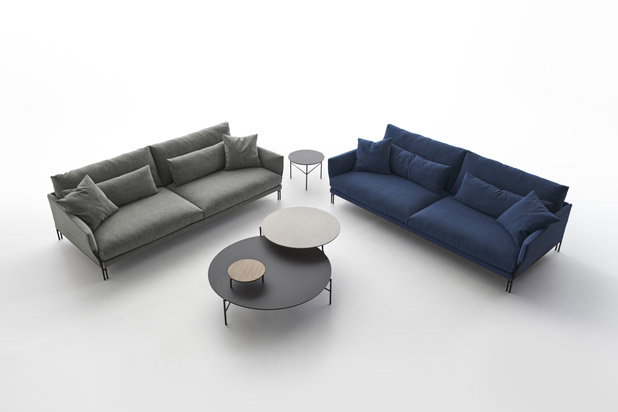 MAJESTIC sofas, designed by La Mamba for Carmenes