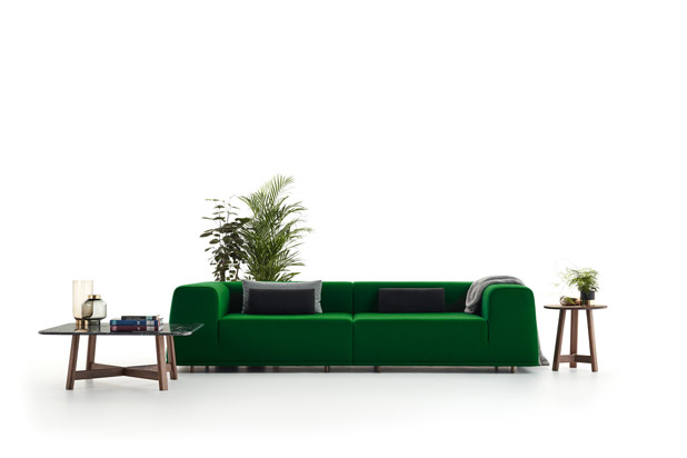 BLANC sofa, designed by Francesc Rifé for Carmenes