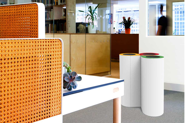 DAVOS bins by Nahtrang for Made Design®. Photo: Courtesy of Made Design®