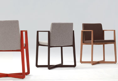 ZAS chairs, designed by Gabriel Teixido