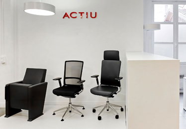 Actiu´s showroom in Paris