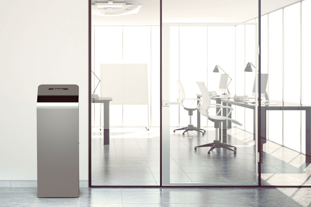 CHECK bin by Roger Vancells for Vilagrasa by Resol Group.  Photo: Courtesy of Vilagrasa