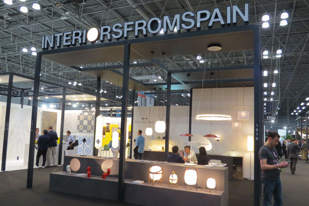Interiors from Spain at ICFF 2018