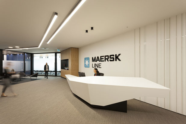 Maersk Line Office in Auckland, NZ