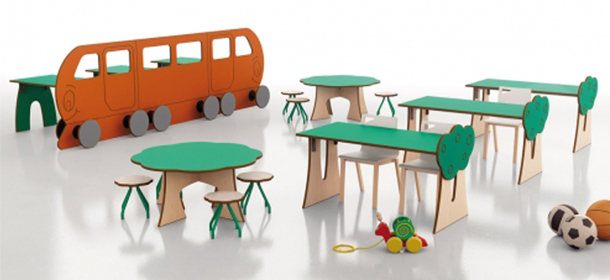 Muebles para crecer for Muebles de guarderia