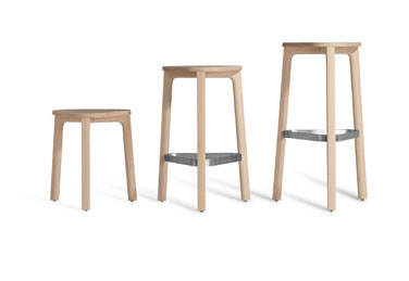 PERCH stools, designed by Marcel Sigel