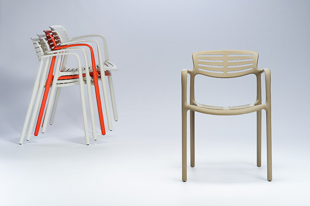 TOLEDO AIR chairs, designed by Jorge Pensi for BARCELONA Dd