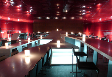 Luis vidal arquitectos for Restaurante escuela de arquitectos madrid