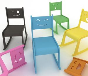 Happy Chair, From The Crezko Collection, Designed By Triángulo Design +  Food For Kimoo