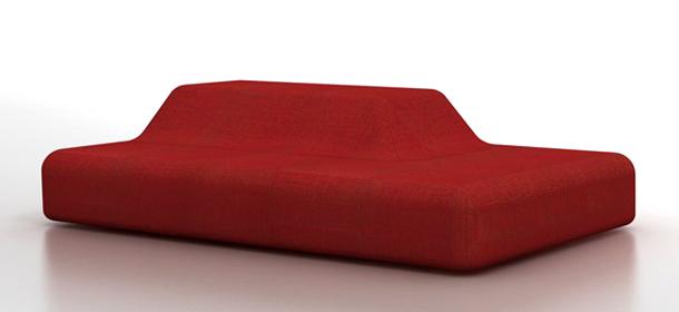 Piero Lissoniu0027s Season Sofa For Viccarbe U2013 Organic Looking And Very  Original.