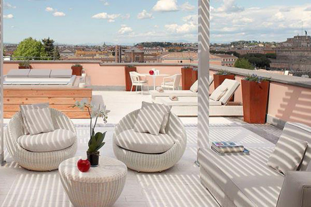 BUBBLE and ZOE collections at Gran Meliá Hotel in Rome, Italy
