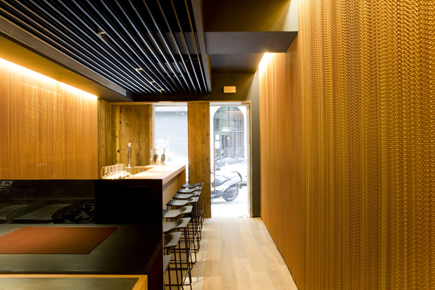 Coure Restaurant, Barcelona (Spain) by Alfons Tost Interiorisme