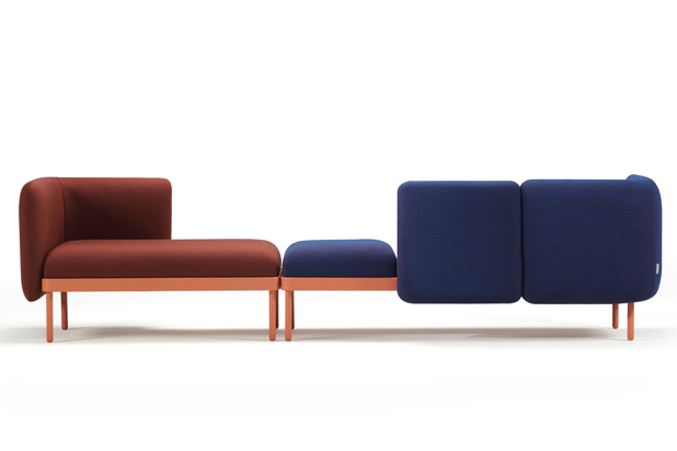 Mosaico seating and table collection for Sancal