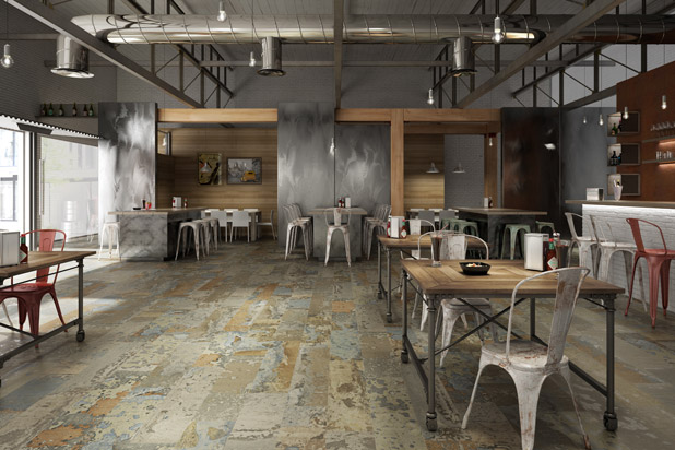Spanish tiles set trends for Inalco carrelage