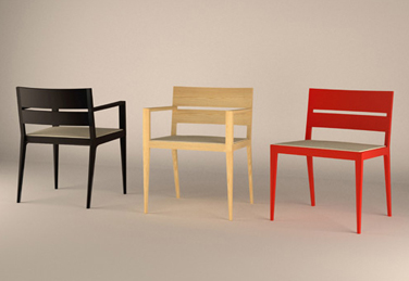Citrus chairs for Andreu World