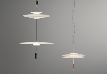 Flamingo pendant lights, designed by Antoni Arola