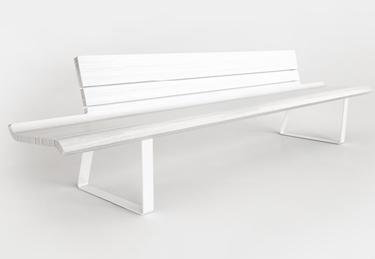 Fuori bench for Viccarbe