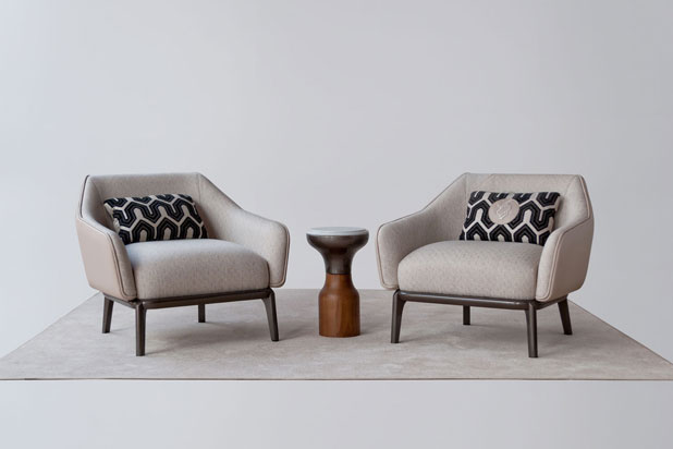 Armchairs and table. Fortune II collection
