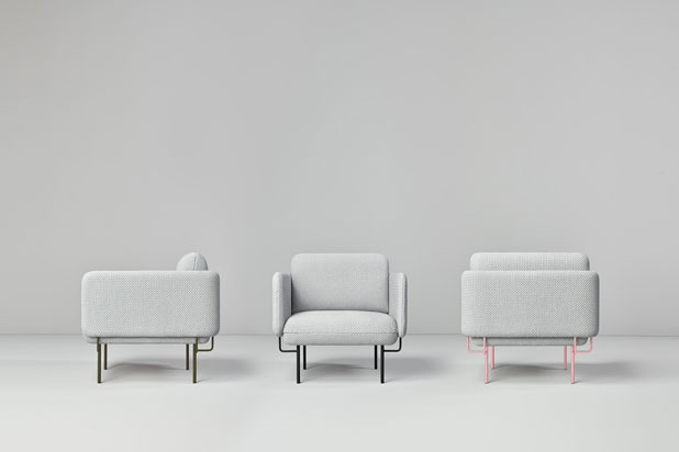ALCE armchair collection, designed by Chris Hardy for Missana. Photo: Cualiti Photo Studio