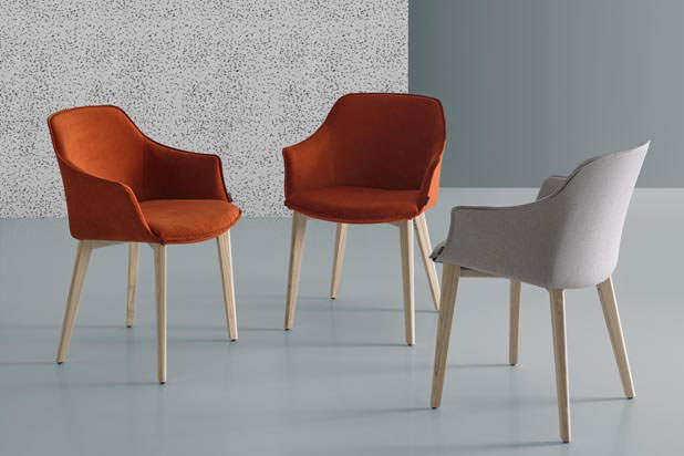 KEDUA chairs, designed by Santiago Sevillano for Mobliberica
