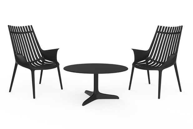 IBIZA chair and table collection, designed by Eugeni Quitllet for Vondom