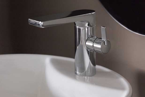 AROLA washbasin tap collection by Industrias Ramón Soler