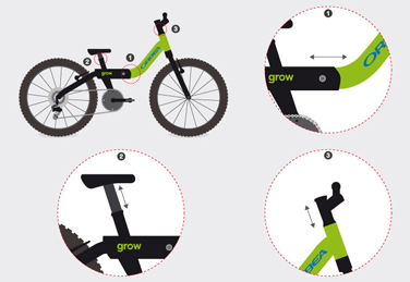Grow bicycle design for Orbea
