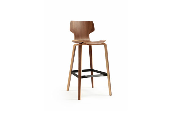 GRÀCIA high stool, designed by JM Tremoleda y JM Massana for Mobles114