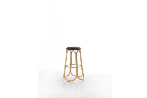 Reedition of GRES stool collection, designed by Miguel Milá for Expormim