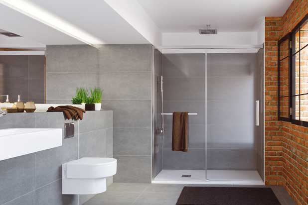 HIT bath and shower-tray screens collection by Profiltek
