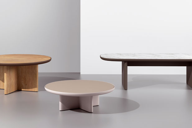 CALA tables, designed by Doshi Levien for Kettal