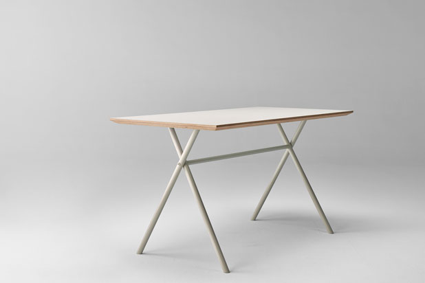 BAI table, designed by Ander Lizaso for Ondarreta
