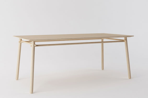 BASOA table, designed by Silvia-Ceñal for Treku
