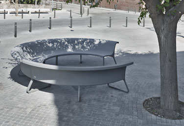 CONCRET bench, designed by BAAS arquitectura