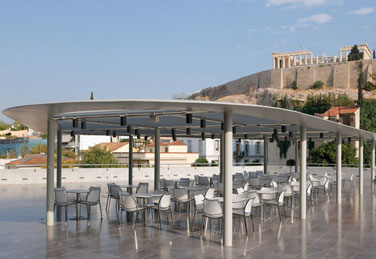 Gaschair at the Acropolis Museum in Athens