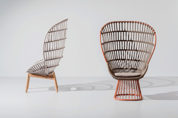 CALA armchair, designed by Doshi Levien for Kettal