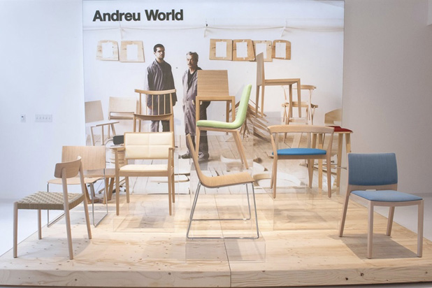 Andreu World´s  Showroom in San Francisco