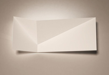Aplique de pared ENVELOPE diseñado por Alum Design Works