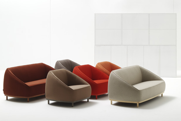 Sumo sofá and armchair collection for Sancal